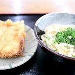 麺賊 - 料理写真:かまあげ&とりてん