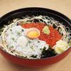 Shirasudonyatobiccho - 料理写真:最高級グレードのいくらたっぷり。ごはんは酢飯です。
