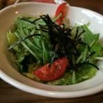 農業高校レストラン - たっぷりの野菜サラダ(2015.5.9)