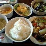 海鮮中華厨房 張家 北京閣 - 日替り