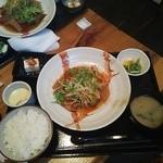 釜焼鳥本舗おやひなや - 豚の角煮定食980円(税抜)