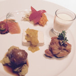 GINZA HABSBURG VEILCHEN - 前菜盛り合わせ