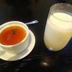 松竹五右衛門 - 豆乳プリンと豆乳