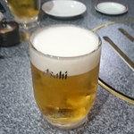 炭火焼肉・韓国家庭料理 ソナム - 生ビール 540円