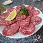 炭火焼肉・韓国家庭料理 ソナム - 上タン 1,490円 x 2人前