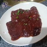 炭火焼肉・韓国家庭料理 ソナム - レバー 1人前 864円