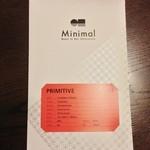 ミニマル  富ヶ谷本店 - PRIMITIVE