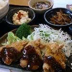 伝統食カフェ~楽膳~ - チキンカツ定食