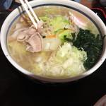 37775888 - ホタテ塩野菜ラーメン