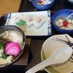 ほうじゅう - がんば寿司定食