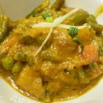 メロスト - 野菜カレー