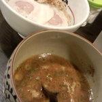 麺や偶 もとなり - 魚介豚骨つけ麺