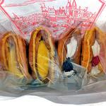 銘菓と洋菓子 静月 - 購入したワッフル類(2015年5月)