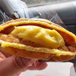銘菓と洋菓子 静月 - ワッフル カスタードクリーム