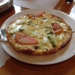 コンキリエ - 山の幸ピザ