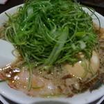 来来亭 河原町三条店 - 葱ラーメン@907円(税込み)。味玉トッピング