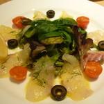 ハスキー - 鯛のカルパッチョ