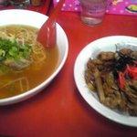 中華食堂チャオチャオ - 豚バラ丼セット