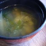 レストラン 精養軒 - 味噌汁