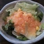 どんぐり - サラダ(何と200円!)