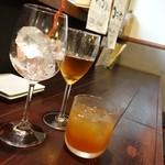 哲剣 - 2014年6月 くれはロワイヤル【580円】紅茶梅酒です。