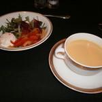 ヴァンヴェール - サラダ・スープ