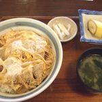 玉川 そば店 - カツ丼並 1,026円(税込)