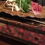 くっすー - 金山寺味噌で仕込んだ朴葉焼き 黒毛和牛 980円