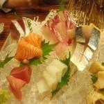 わらび  - 料理写真:「旬のお刺身盛り合わせ(1~2人前」