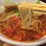 春水堂 - 坦々麺の麺