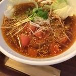 春水堂 - ピリ辛トマト坦々麺