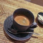 かわ村 - 2015.05再訪:エスプレッソ・ドッピオ&小菓子☆