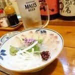 くろしお - 2014年6月 ヒラメ造り【900円】