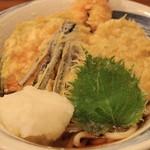 えん家 - 料理写真:海老おろしうどん(温)