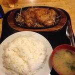 吉兆 - 激盛りメニュー、鳥の生姜焼き