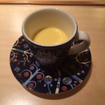 寿しの吉乃 - とうもろこしのスープ