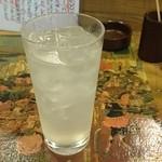 巣鴨たつみ - レモンサワー