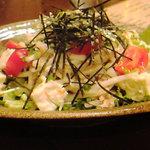 Am am - 矢代豆腐のダイコンサラダ(看板メニュー)