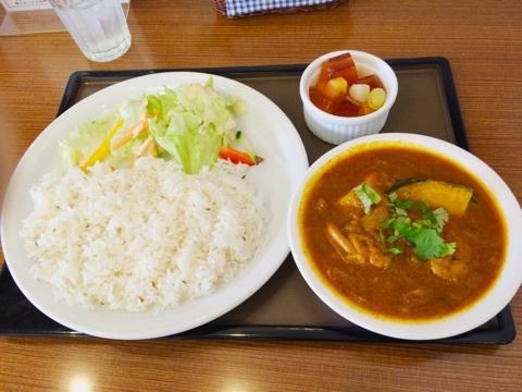 ティーハウス マユール 五反田店 - ランチセットA  (マユール特製インドカレー)¥900