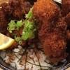 山科酒場 見聞録 - 料理写真:ボリューム満点の鶏カツ丼