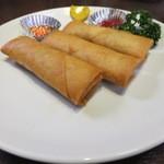 中華料理紅蘭 - 春巻き(値段失念)