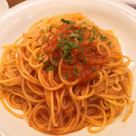 ZUCCA - 料理写真:シーフードトマトソースパスタ