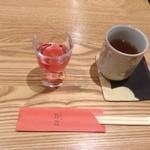 くにたち桜花 - 食前ジュース