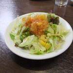 中華料理紅蘭 - Aランチ(900円)のサラダ