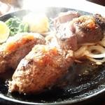 37793242 - 「ワイルドビーフハンバーグ&ステーキ」¥1,680(税抜)