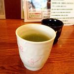 37793666 - 1杯目は新茶です。