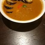 curry 草枕 - ナスとチキン