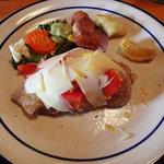 スイスレストラン アルポン - 豚ロース ティチーノスタイル