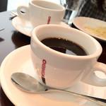 ブールブリッコ - ランチ1000yen(税込): コーヒー