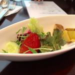 ブールブリッコ - ランチ1000yen(税込):サラダ